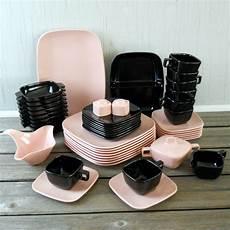 Designer Dishes Melmac Brookpark Modern Design Dinnerware Set 48 Piece
