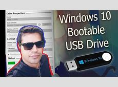 HOW TO CREATE BOOTABLE USB FLASH DRIVE IN WINDOWS 10
