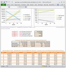 Amortization Table With Extra Principal Payments Student Loan Calculator And Amortization Table With Extra