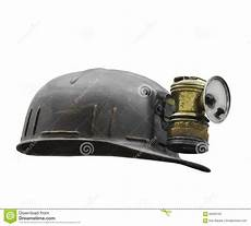 Miners Hat With Light Old Coal Miner S Hat Isolated Stock Image Image Of Hard