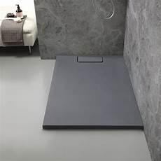 piatto doccia sottile piatto doccia 80x120 in resina sottile grigio ardesia mart