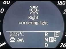 Mercedes Benz Cornering Lights Mercedes W212 E300 2011 Cornering Light Replacement