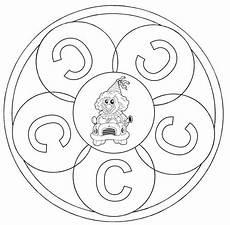 www kinder malvorlagen buchstaben mandala ausmalbild mandalas mandala buchstabe c zum ausmalen