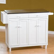 The Randall Portable Kitchen Island With Optional Stools To It The Randall Stationary Kitchen Island