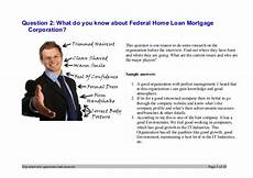 Federal Home Loan Mortgage Corporation Top 7 Federal Home Loan Mortgage Corporation Interview