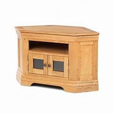 bordeaux solid oak furniture corner television cabinet