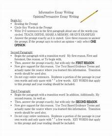 Commentary Example In Essays Free 21 Essay Writing Examples In Pdf Examples
