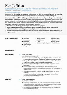 Project Cv Project Manager Cv Examples Amp Templates Visualcv