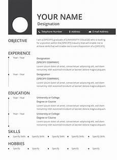 Resume Format Download In Word Document 30 Best Resume Formats Doc Pdf Psd Free Amp Premium