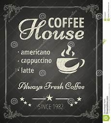 kaffe plakat kaffee plakat vektor abbildung illustration hei 223