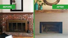 dated fireplace mantel turns to rustic modern angie s list