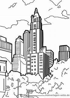 malvorlage wolkenkratzer malvorlagen vorlagen und ausmalen