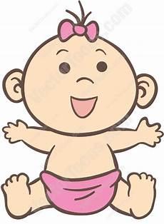 Baby Cartoons Free Baby Girl Clip Art Free Cliparts Co