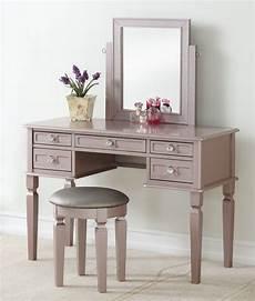 poundex f4186 3 pc gold finish wood make up bedroom