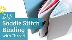 How To Make A Booklet Diy Saddle Stitch Bookbinding Tutorial Sea Lemon Youtube