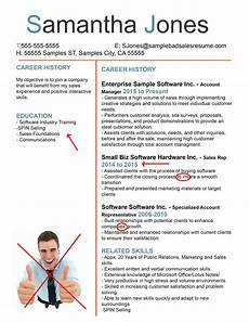 Bad Resume Example The Anatomy Of A Terrible Sales Resume