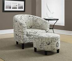 accent chair ottoman vintage fabric accent chair with ottoman from