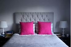 new pink bed pillows and a styling dilemma create