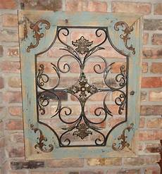 country chic home decor rustic turquoise wood metal wall decor cottage chic