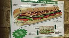 Sandwich Chart How To Make A Subway Sandwich Stolen Chart From Subway