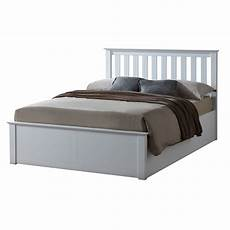 5 0 quot king size sutton white ottoman bed frame sussex beds