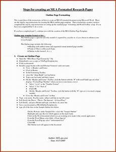 Research Paper Format Template 7 Scientific Research Paper Template Sampletemplatess