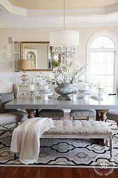 winter white dining room centerpiece winter dining