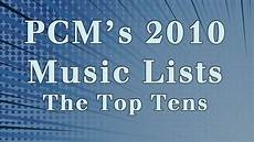 2010 British Music Charts 2010 Top Ten Music Charts