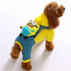 puppy coats minions hight quality pet dress up minions