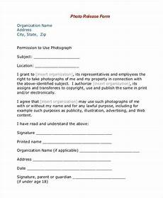 Photo Release Waiver Free 39 Sample Release Forms In Pdf Excel Ms Word