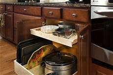 pull out shelves gliding to a hardworking kitchen
