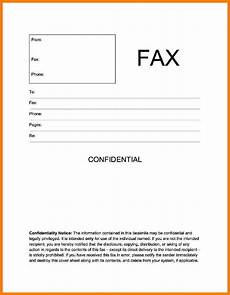 Examples Of A Fax Cover Sheet 8 Fax Confidentiality Disclaimer Ledger Review