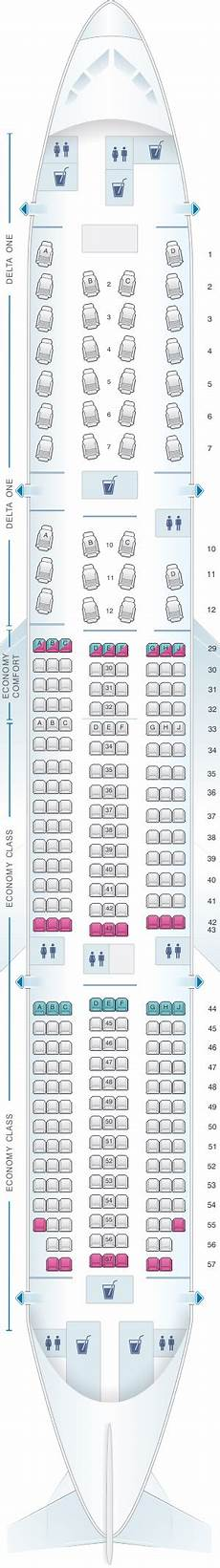 Delta Airlines Seating Chart Seat Map Delta Air Lines Boeing B777 200er Seatmaestro