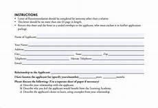 Letter Of Recommendation Forms 11 Personal Letter Of Recommendations Free Sample