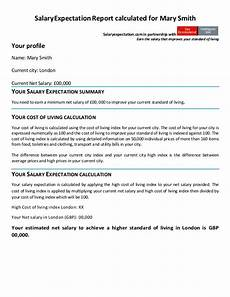 Example Of Salary How To Answer The Salary Expectation Question