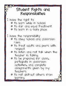 Student Rights And Responsibilities 3 Different Versions Of Student Rights And