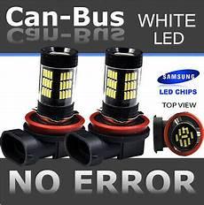 California Vehicle Code Fog Lights Samsung H11 42w Canbus 42 Led 2nd Gen Super White Fog