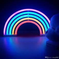 Night Shift Shoe Lights 2019 2018 New Novelty Colorful Rainbow Neon Large