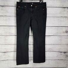 7 For All Mankind Men S Jeans Size Chart 7 For All Mankind Men S Jeans Size 34 X 28 Black Zipper