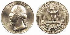 1932 D Quarter Value Chart 1974 Washington Quarter Coin Value Prices Photos Amp Info