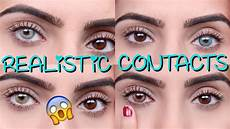 Light Brown Contact Lenses For Dark Eyes Coloured Contacts For Dark Eyes Solotica Youtube