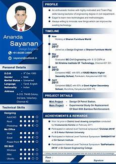 How To Design Resume Professional Resume For Civil Engineer Fresher Awesome