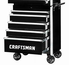 craftsman 27 quot 5 drawer pro cabinet with integrated latch
