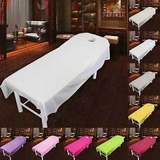 soft bed table cotton cover salon spa
