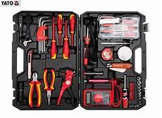 Elektriker Werkzeug Satzzuhause by Yato Elektriker Werkzeug Set 68 Teilig Elektrowerkzeuge