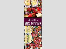 Sheet Pan BBQ Chicken Dinner   Recipe   Sheet pan, Bbq