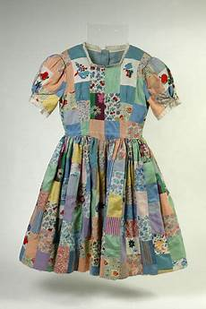 patchwork dress 1942 v a museum of childhood