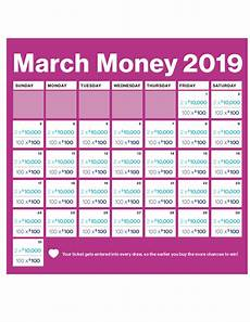 Money Calendar Heart And Stroke March Money Lottery 2019 Check Your Tickets