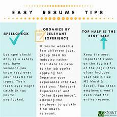 Resume Tips Staffing Knf Amp T Staffing Resources