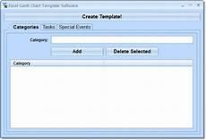 Gantt Chart Excel Software Excel Gantt Chart Template Software